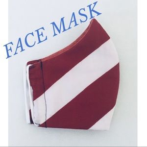 Accessories - FACE MASK PATRIOTIC RED WHITE